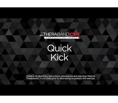 Quick Kick Alternate Ending Position with TheraBand CLX