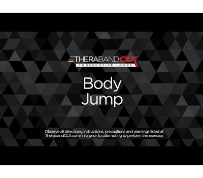 Body Jump Ending Position with TheraBand CLX